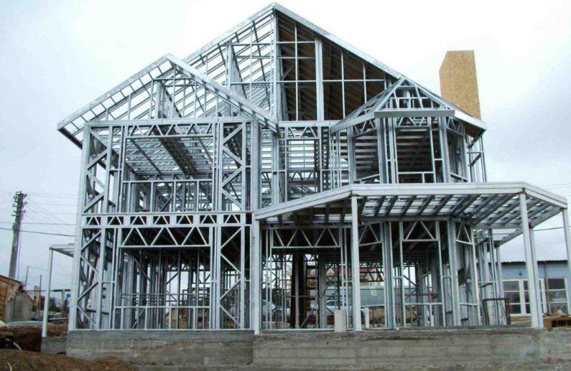Economic Steel Housing