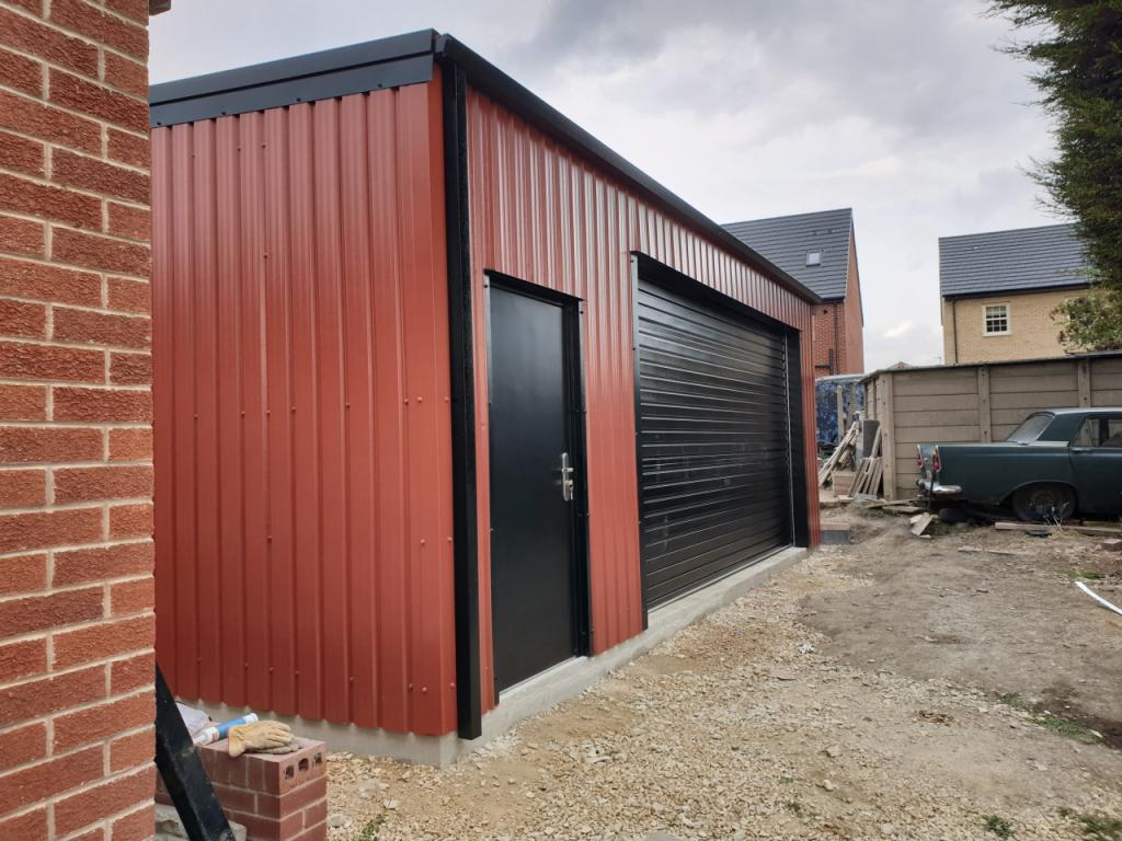Domestic Steel Building Featherstone west yorkshire