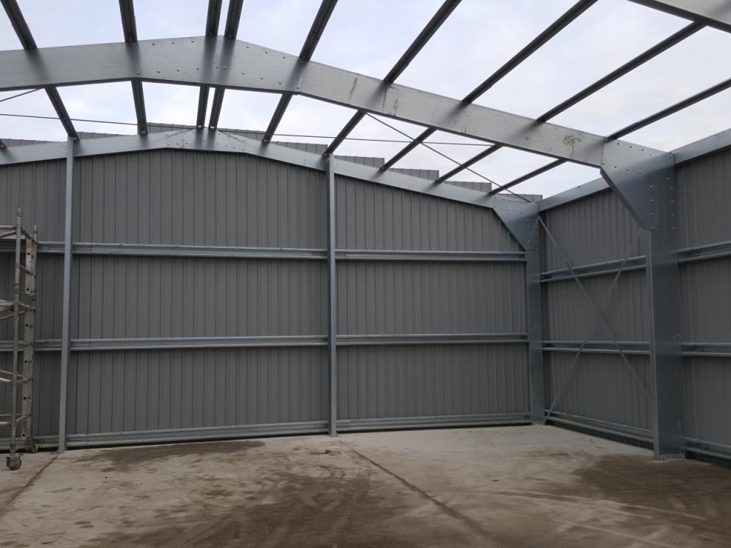 commercial steel building yorkshire frame build
